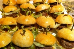 Finger-Food-Mini-Burgers-2 - Finger-Food-Mini-Burgers - Finger-Food-Meat-Skewers - Spit Roast Catering Melbourne