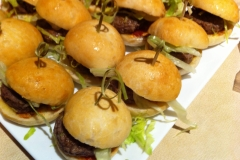 Finger-Food-Mini-Burgers - Finger-Food-Meat-Skewers - Spit Roast Catering Melbourne