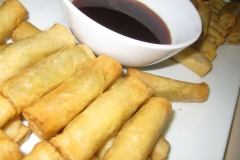 Finger-Food-Mini-Spring-Rolls-Veg - Spit Roast Catering Melbourne